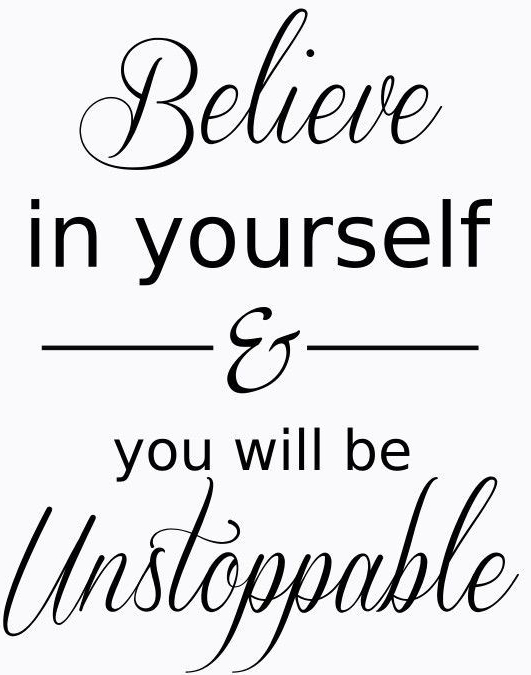 Day 16-  Do you Believe in yourself?…