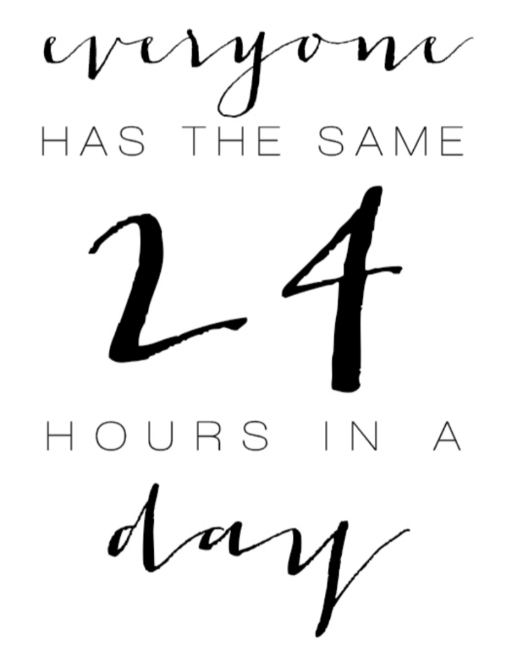 Hours in a day…..